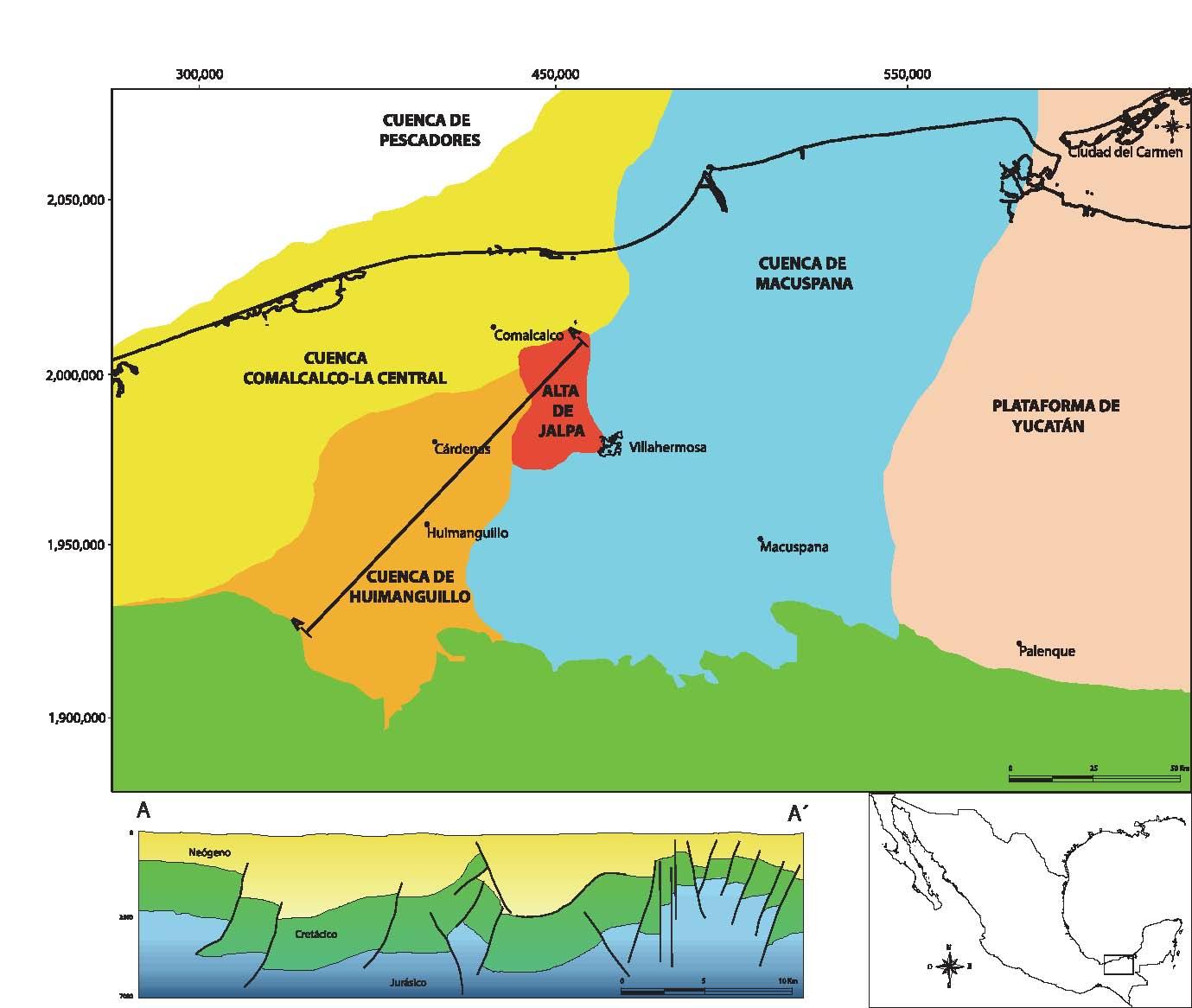 Inicio Home Snyder General Wiring Diagram Figura 2 Localizacin Geogrfica De La Cuenca Del Sureste Acompaada Un Corte Esquemtico Ideal Posible Distribucin Hidrocarburos